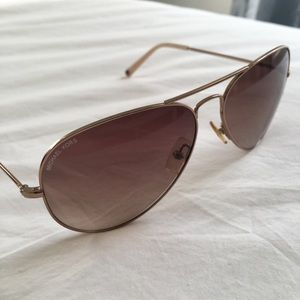 1ae145a6db1a Michael Kors Accessories - Michael Kors Kennedy Aviator Sunglasses